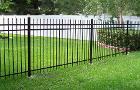 Забор сварной металлический
