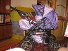 коляска трансформер 3 в 1 в отличном состоянии.