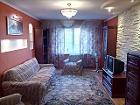 Сдается трёхкомнатная   квартира с хорошим ремонто