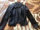 Кожаная куртка Новая р. 42