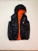 жилетка черно-оранжевая ДВУХСТОРОННЯЯ на рост 144-154