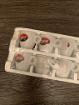 Набор маленьких чашек и блюдец для кофе, а именно эспрессо