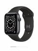 Apple Watch Series 6 44 мм (алюминий серый космос/черный)