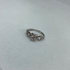 Серебряное кольцо, сережки