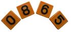 Номерной блок для ремней (от 0 до 9 желтый) КРС от 0,34 руб