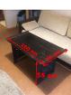 Стол, когтеточка, шкаф, стол со стульями
