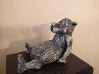 Статуэтка ''Волчица'' (гипс) высотой 20 см
