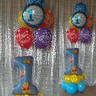 Воздушные шарики с гелием, Осиповичи