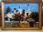 Картина, изготовлена из нитей, размер 79×59см, Минск