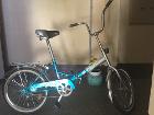 велосипед складной Stels Pilot. складной. Цвет : бирюза