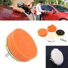комплект насадок для полировки автомобиля