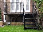 Лестница наружная металлическая