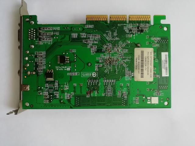 Видеокарта NVIDIA GeForce MX440 AGP 8X 128Mb DDR, купить Минск