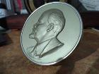 Барельеф, Ленин,тяжелый металл, диаметр 10 см