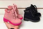 Ботинки розовые 23-30