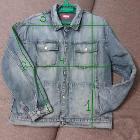 Джинсовая куртка XXL