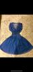Джинсовый платье сарафан Mango