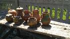 Глиняные горшки для дэкора дачи, Пинск