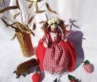 Грелка-кукла на чайник