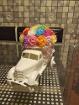 грузовичек с цветами