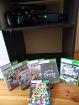 Игровая приставка Xbox 360 slim, 2 джойстика, 6 игр на дисках, Kinect.