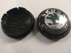 Колпачок Шкода на литой диск 56 мм