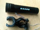 Музыкальный вело-фонарь с мр3 плеером радио.