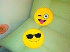 Подушки - смайлики
