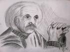 "Продаю картину, ""Енштейн""))"