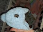 шапка детская до 3 месяцев