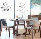 Стол обеденный из массива, 900мм,новый